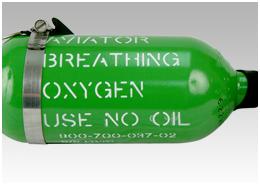 CASP Aerospace Oxygen cylinders