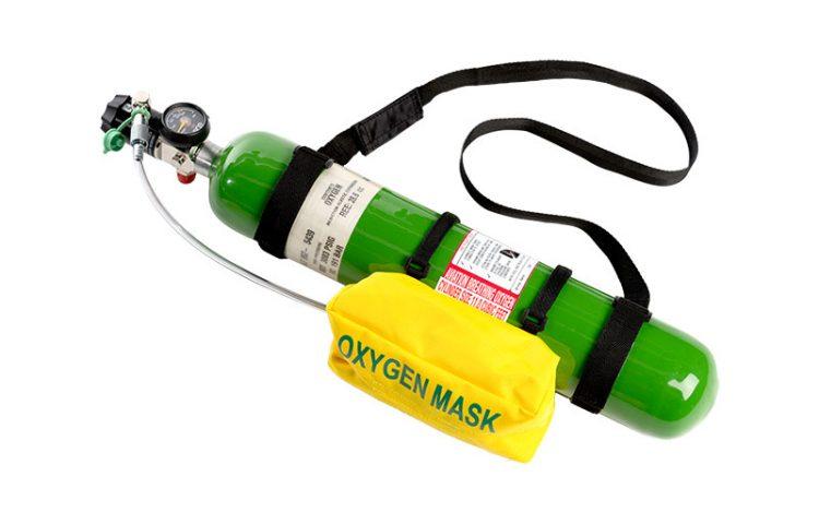 CASP Aerospace - Portable oxygen cylinder assembly