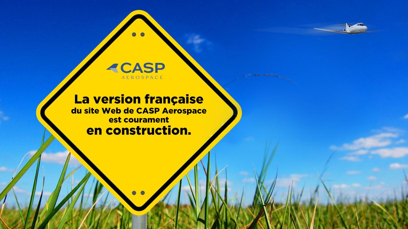 CASP Aerospace - en construction