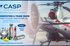 CASP Aerospace at the HAC Convention & Trade Show 2018, Vancouver, BC