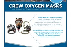 Crew Oxygen Masks Repair & Overhaul