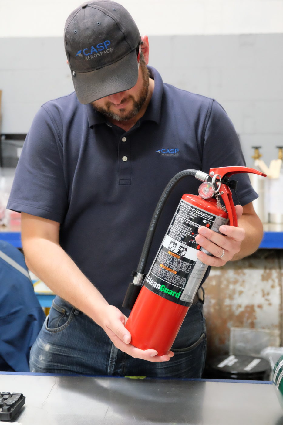 CASP Aerospace becomes  a factory approved Canadian distributor and repair station for Ansul-Tyco fire extinguishers.